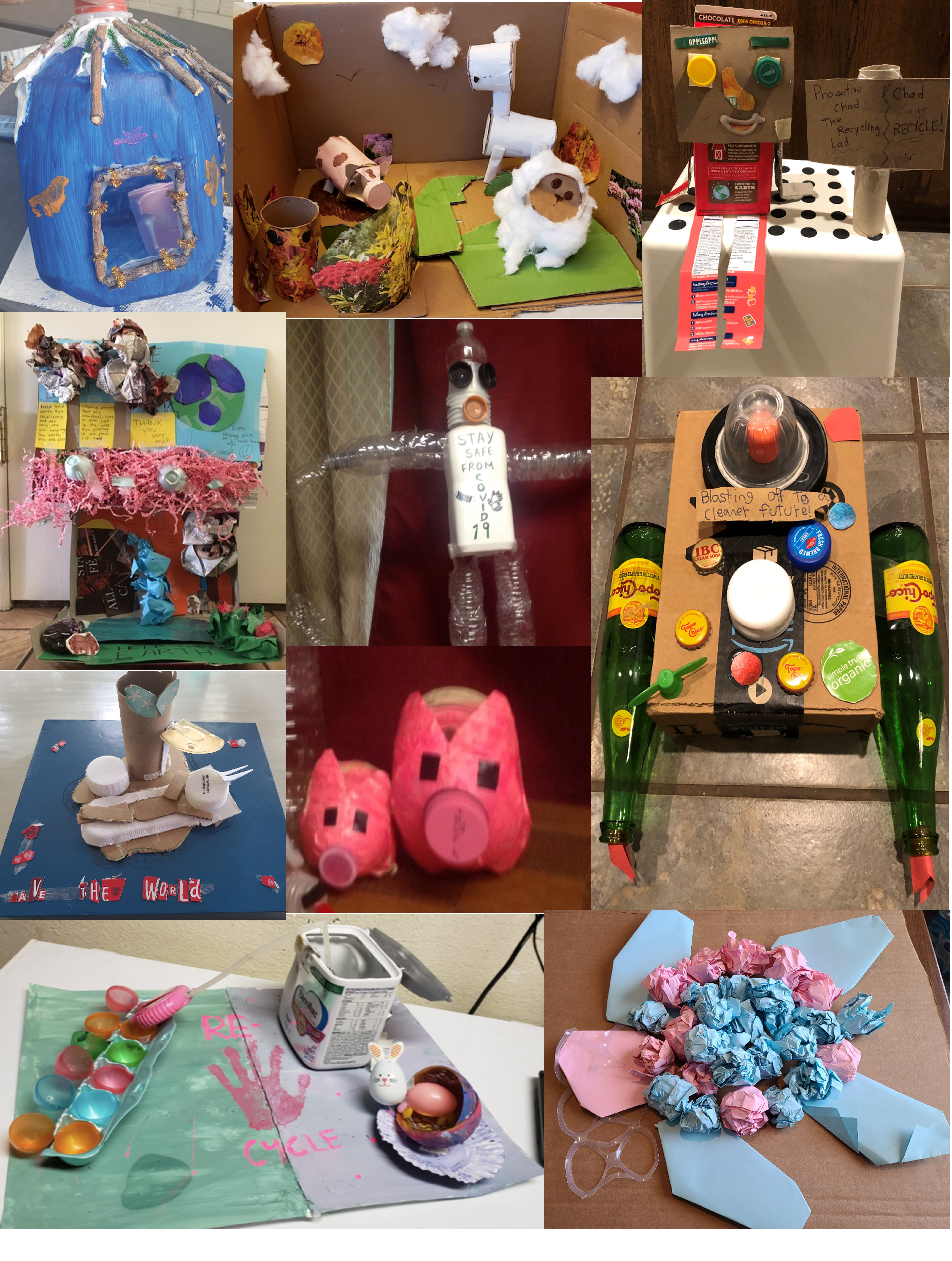 GISD Recycled Art Examples