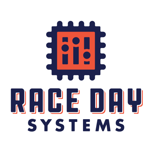 Race Day Systems graphic and text logo